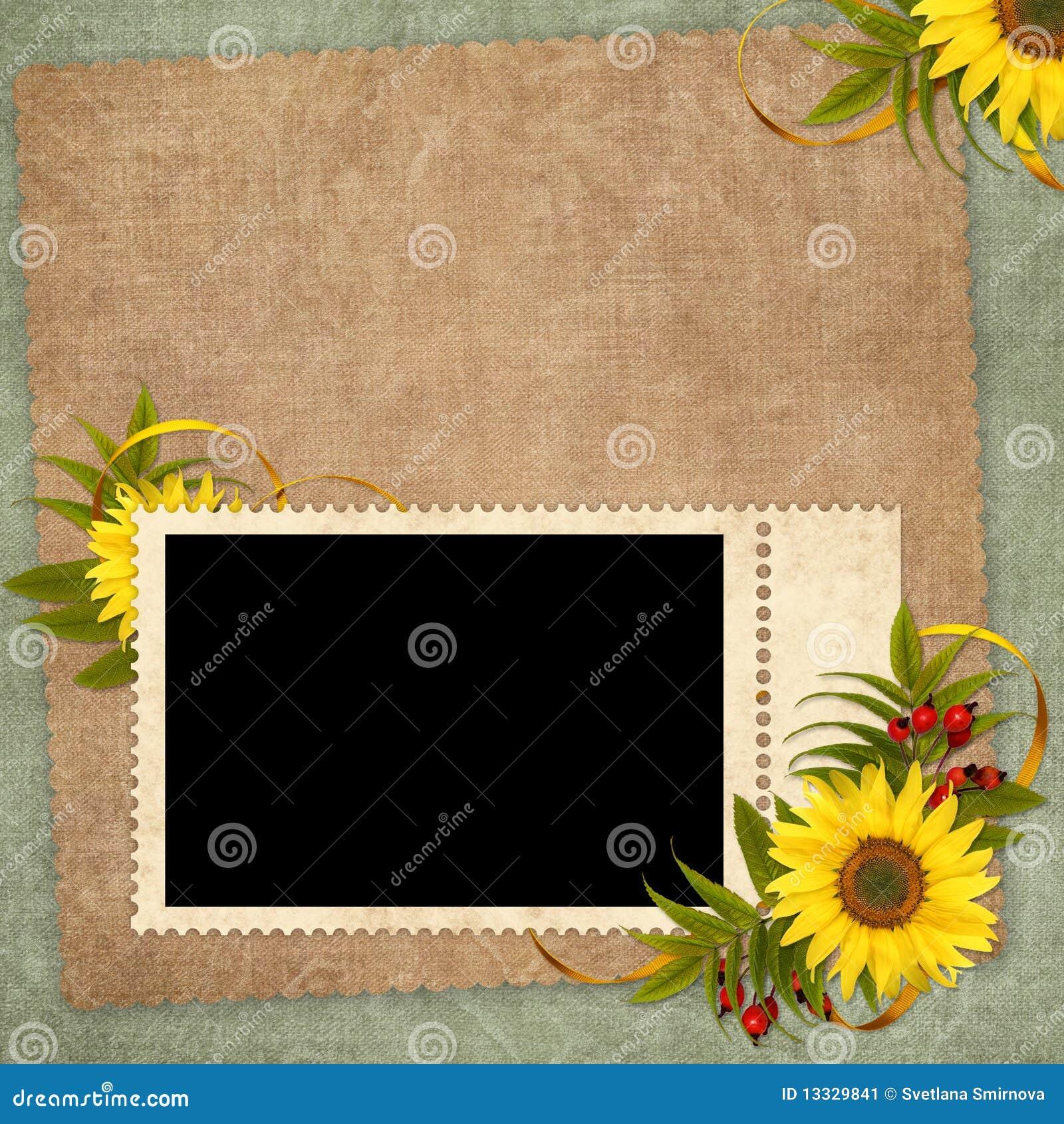 Karciany kwiatu wakacje rocznik