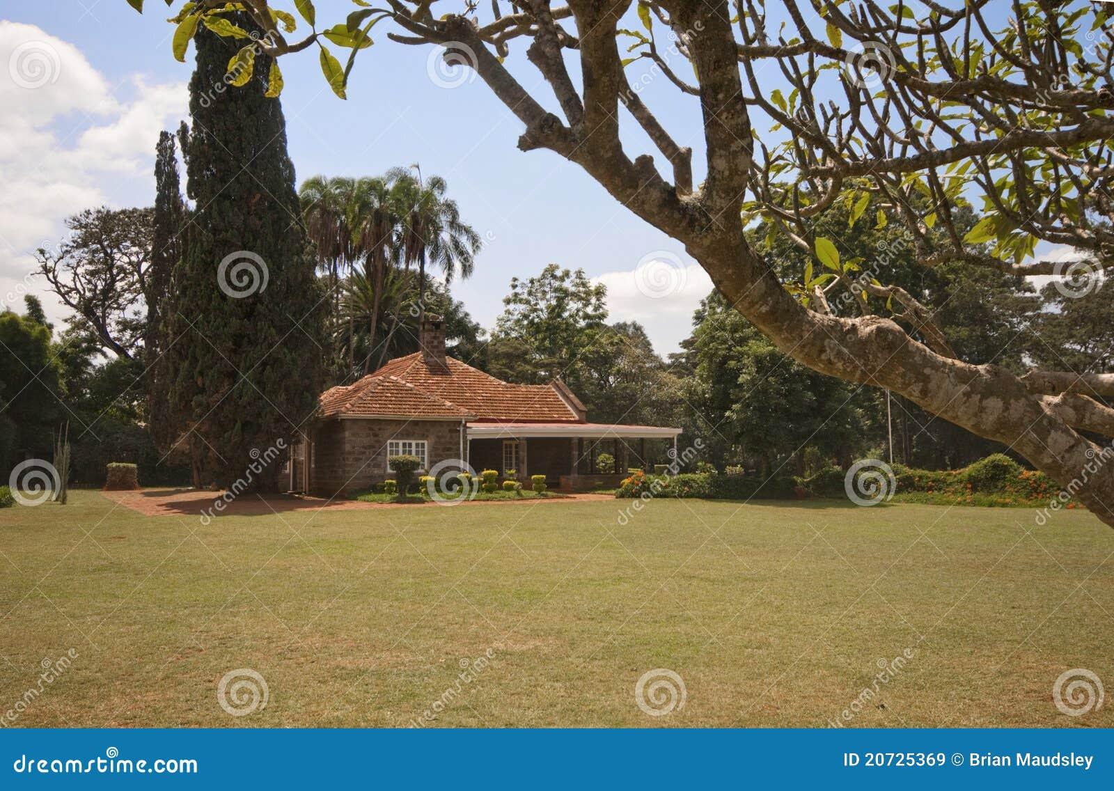 royalty free stock images karen blixen s house kenya