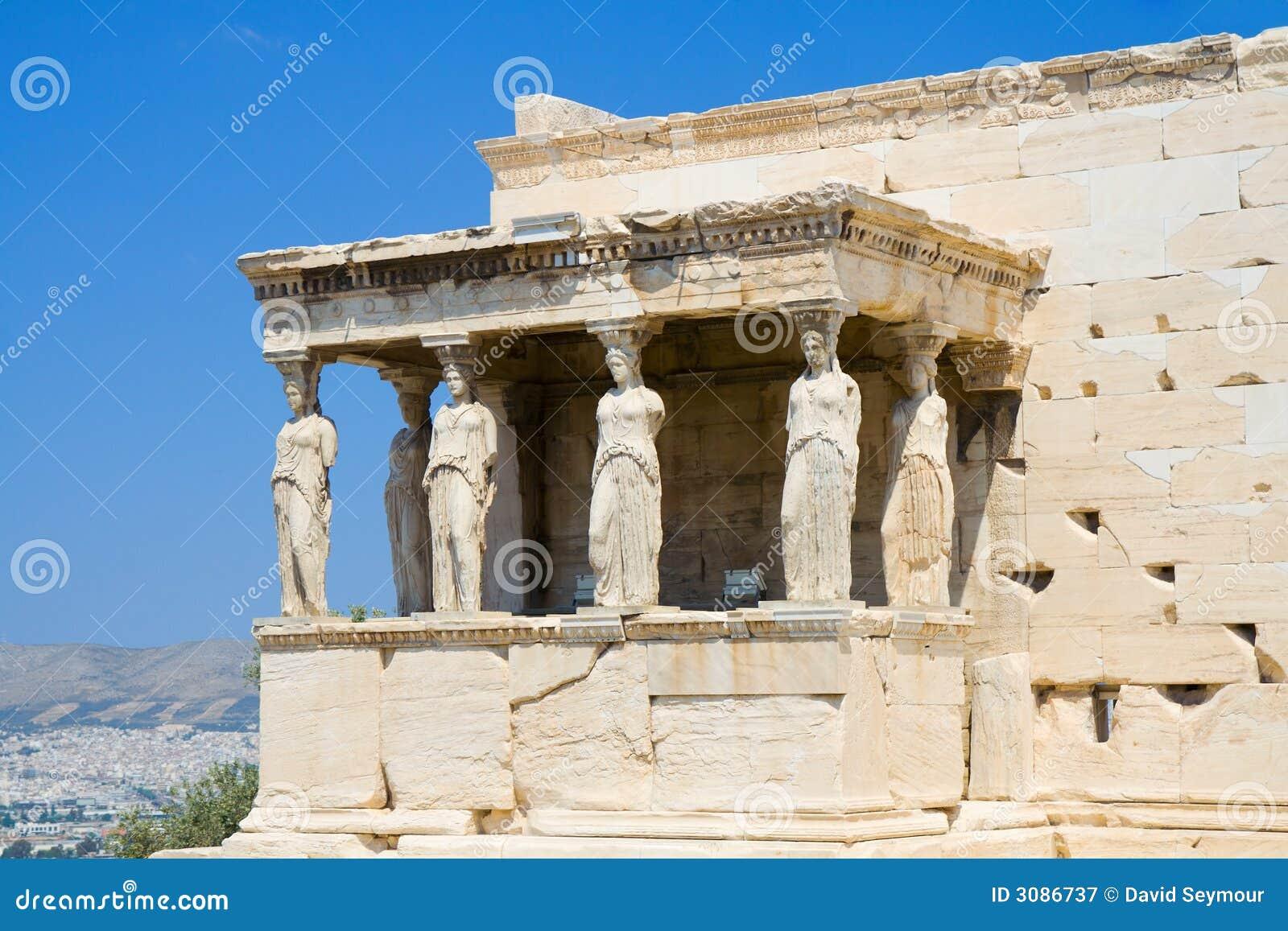 Kariatiden in Athene