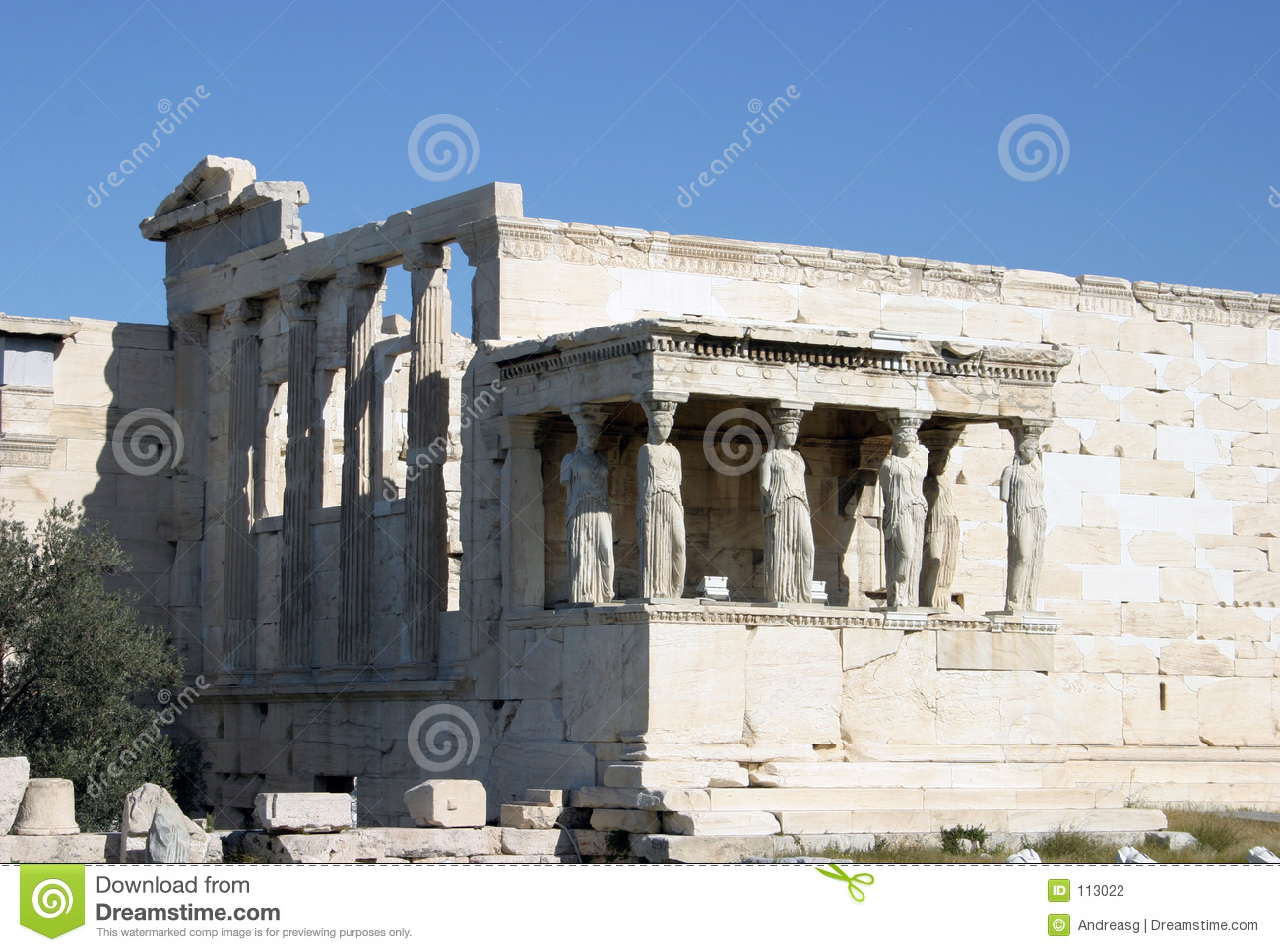 Kariatides no Erechteion