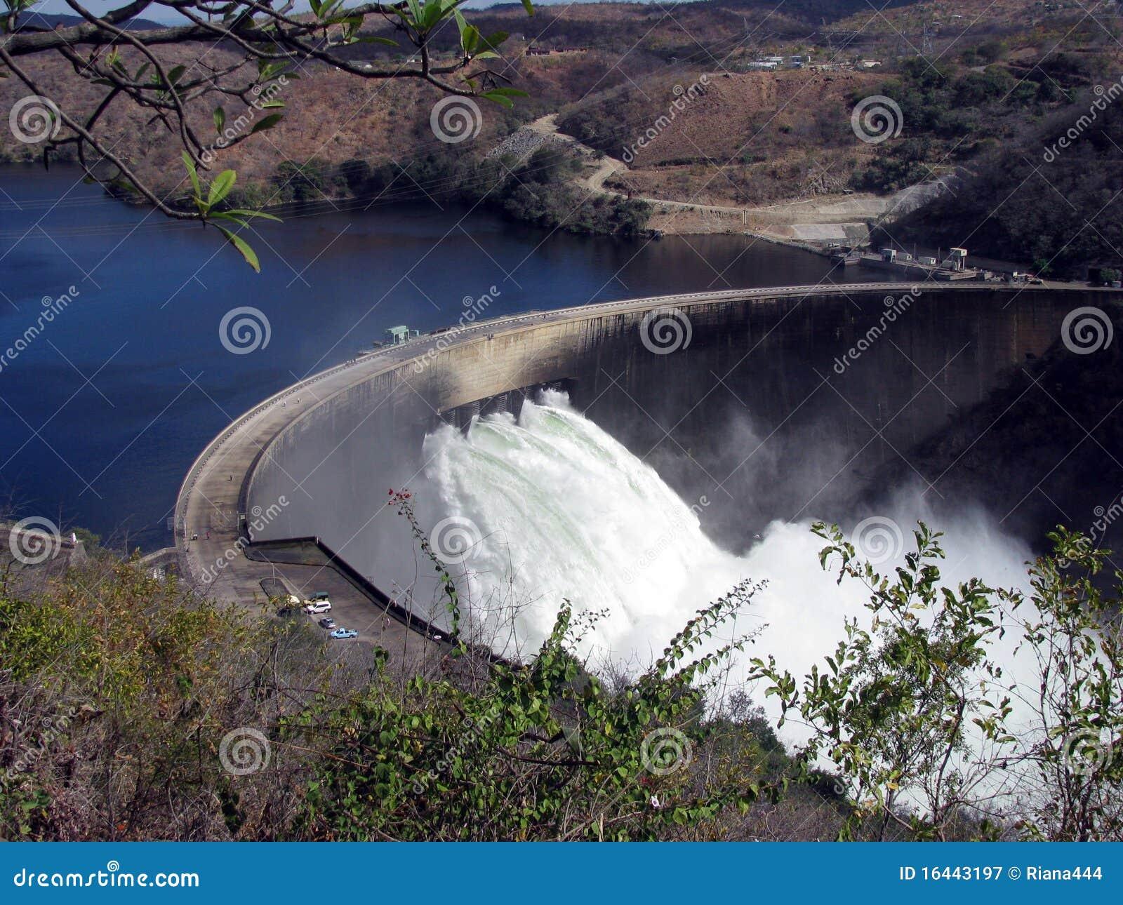 Kariba Зимбабве запруды