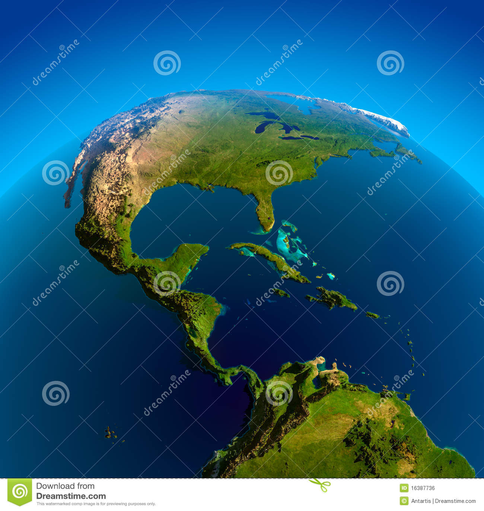 Atlantik Trifft Auf Pazifik