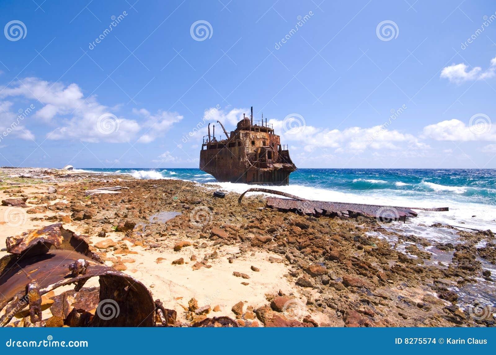 Karibisches Schiffswrack