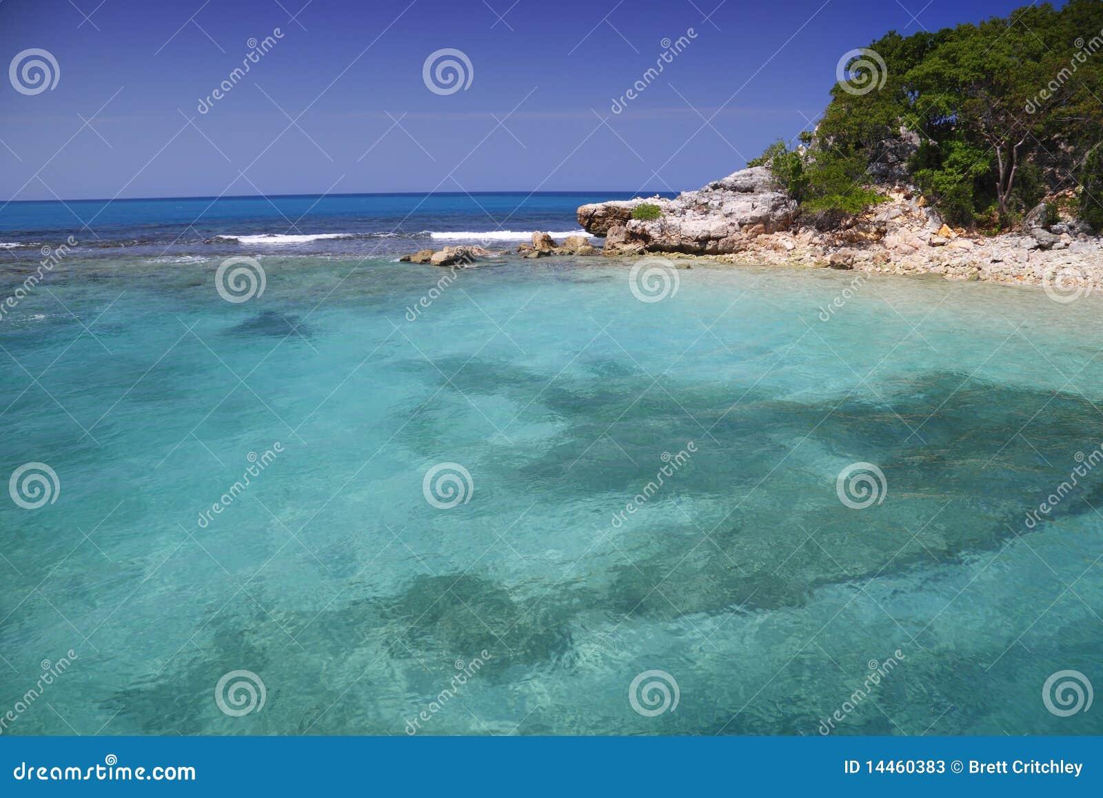 Karibiskt tropiskt för strand
