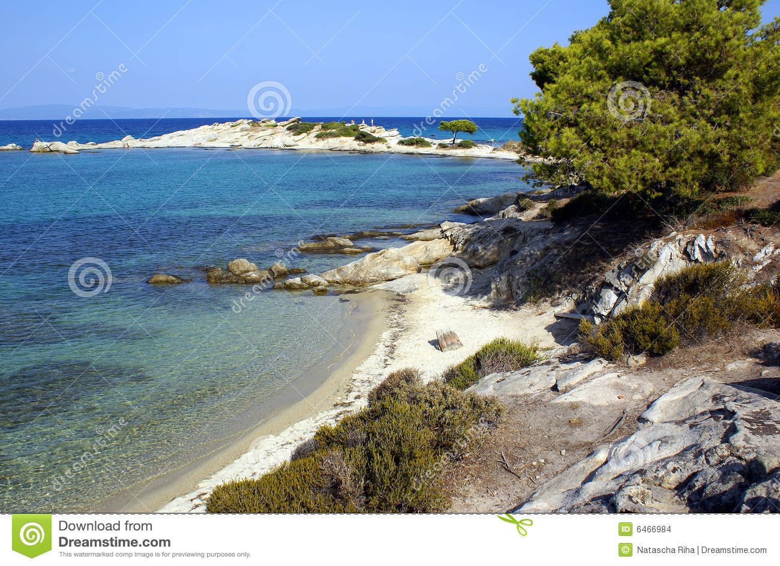 Karidi na plaży