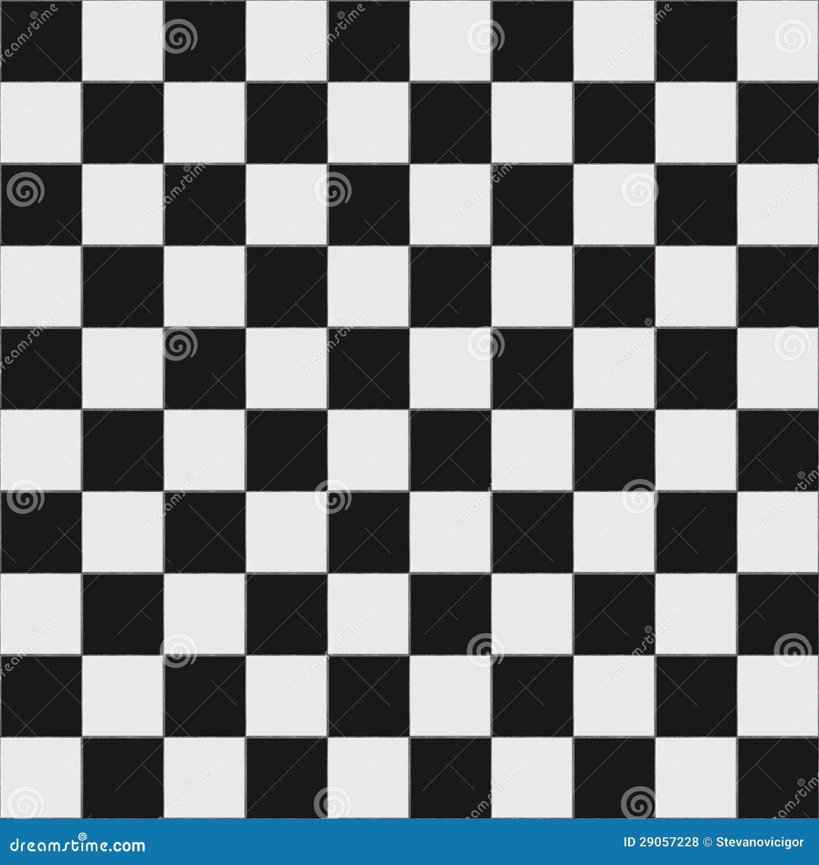 Karierter schwarzweiss boden lizenzfreie stockfotos   bild: 29057228
