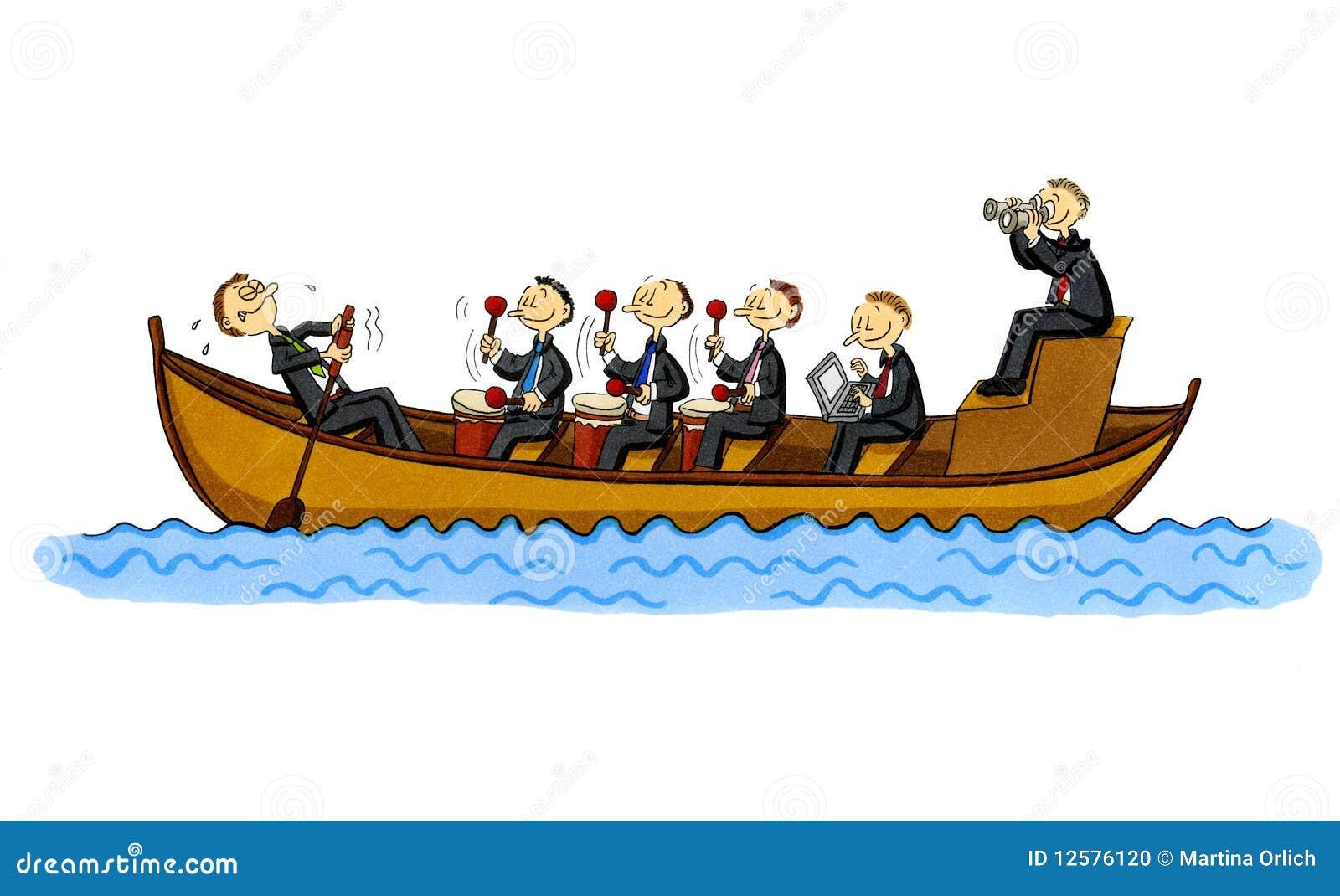 Row Boat Team Building