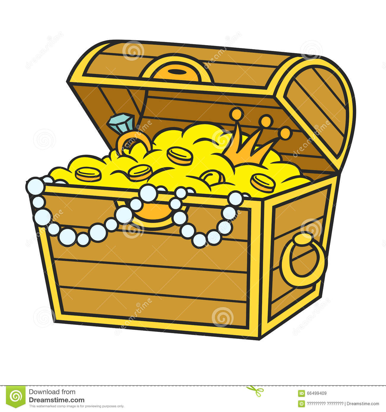 karikatur piraten schatz vektor abbildung illustration treasure chests clip art open treasure box clipart