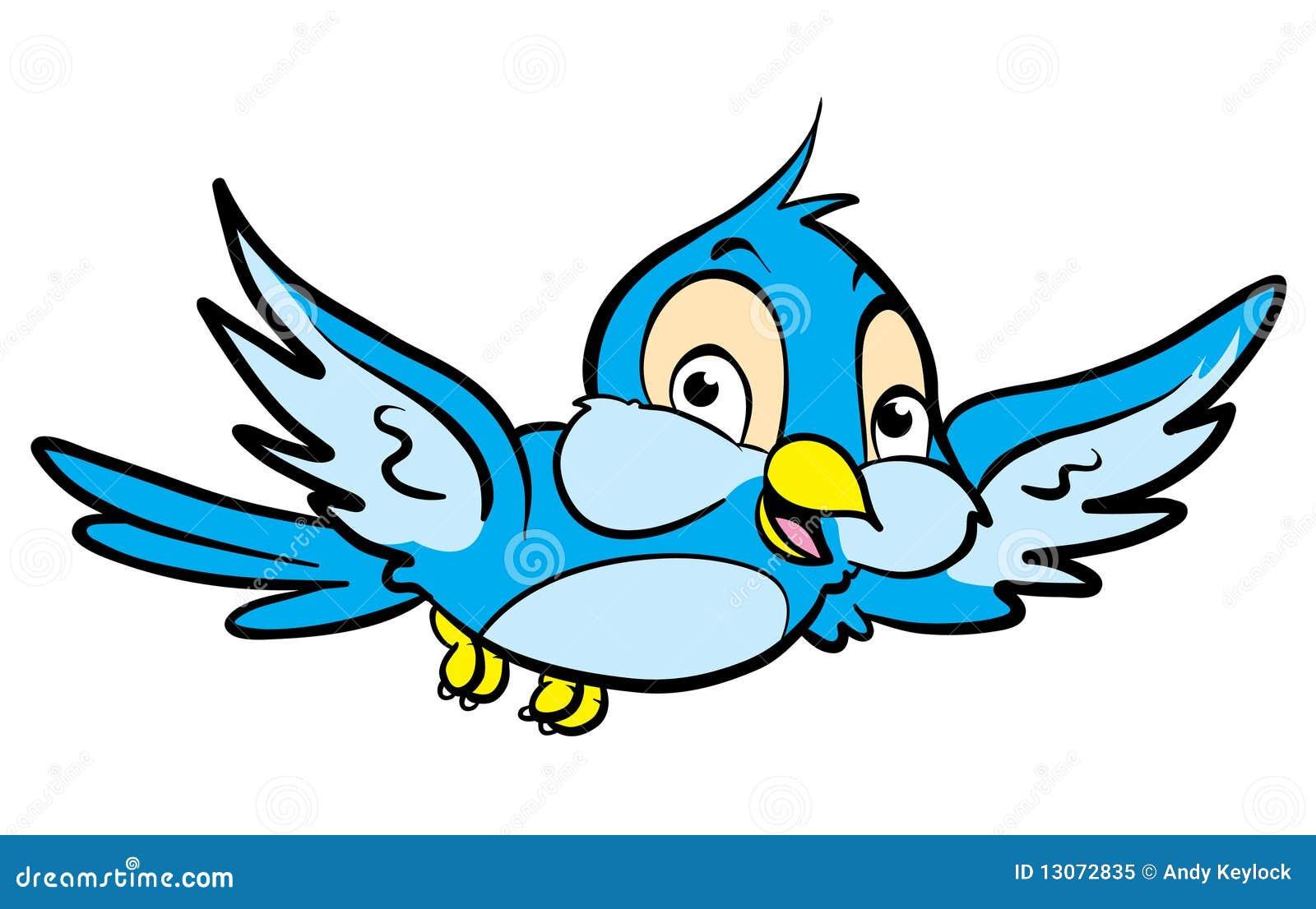 Karikatur-Vogel