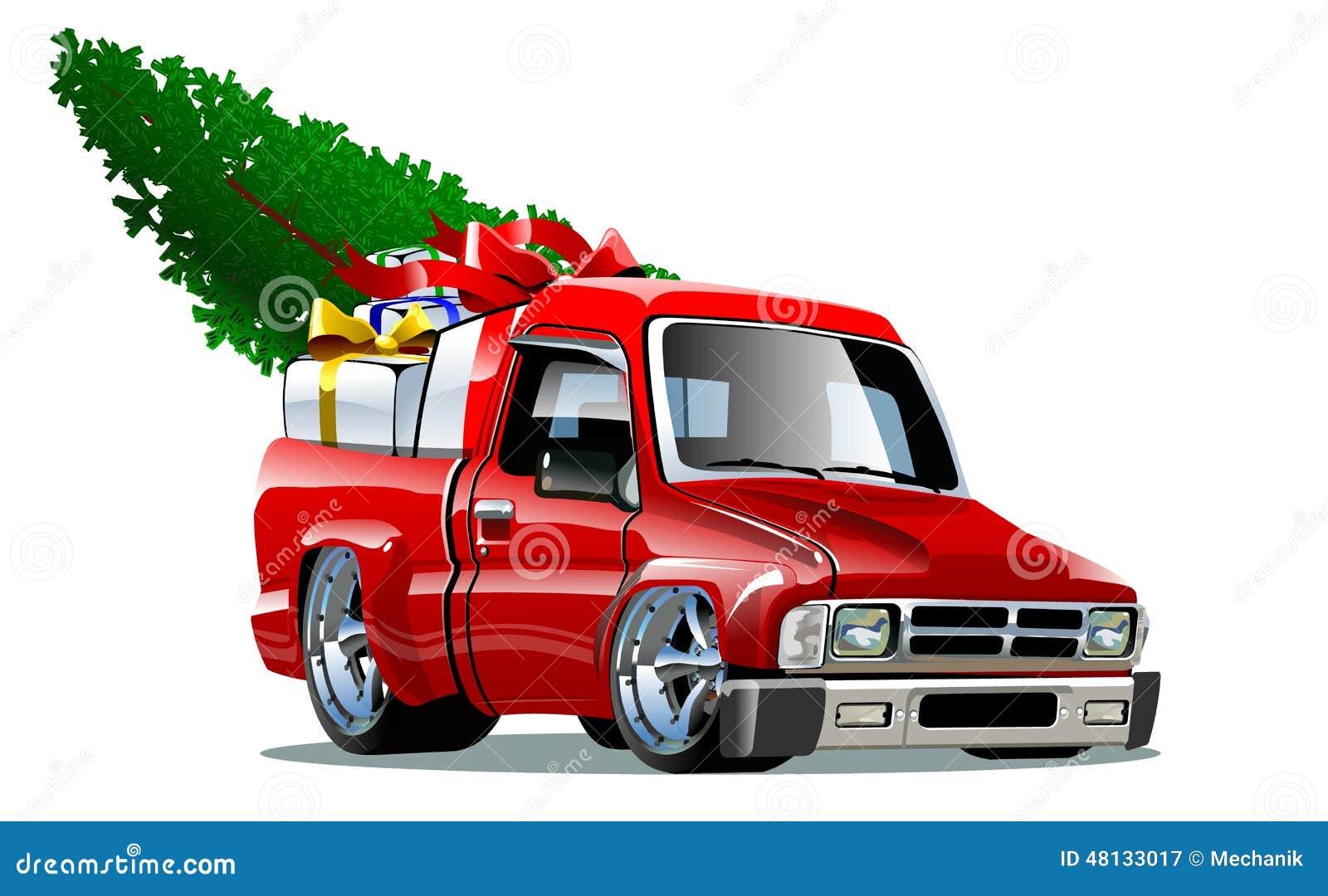 Karikatur-Weihnachtsaufnahme Vektor Abbildung - Illustration von ...