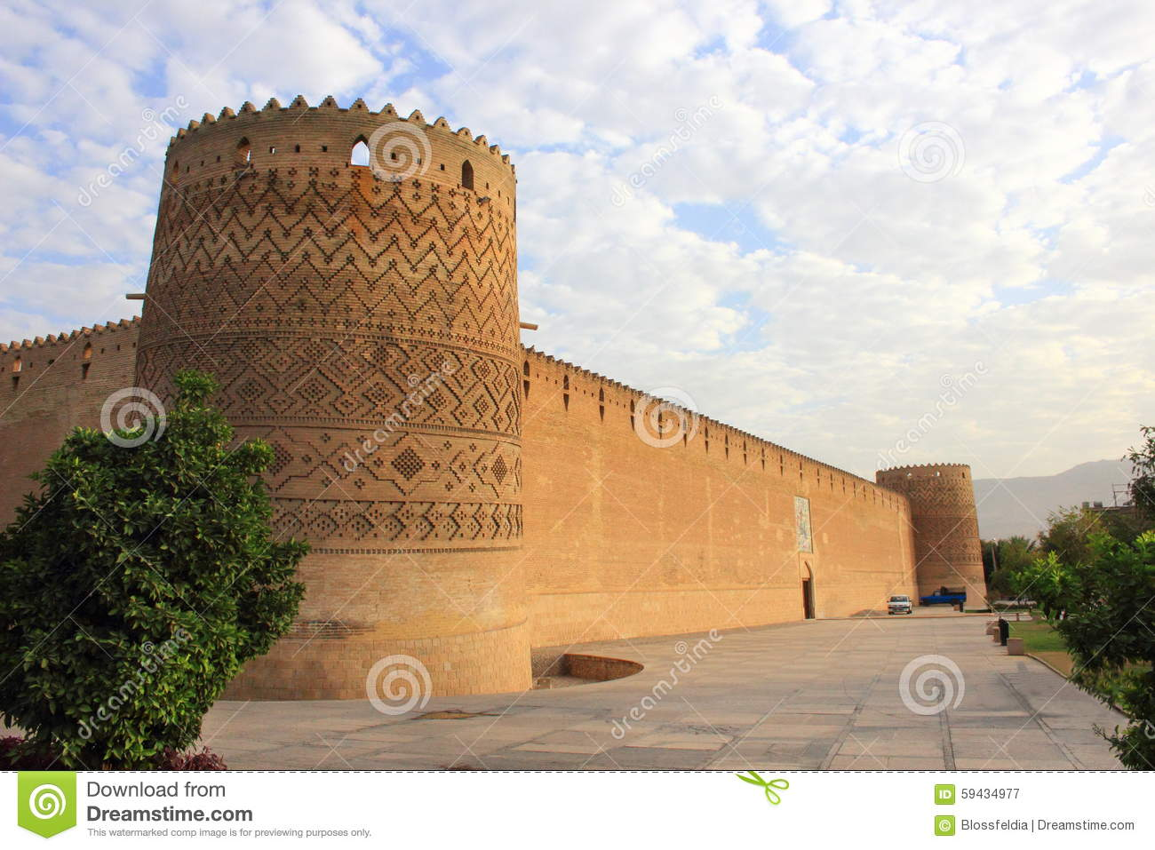 The Karim Khan Castle in Shiraz city, Iran.