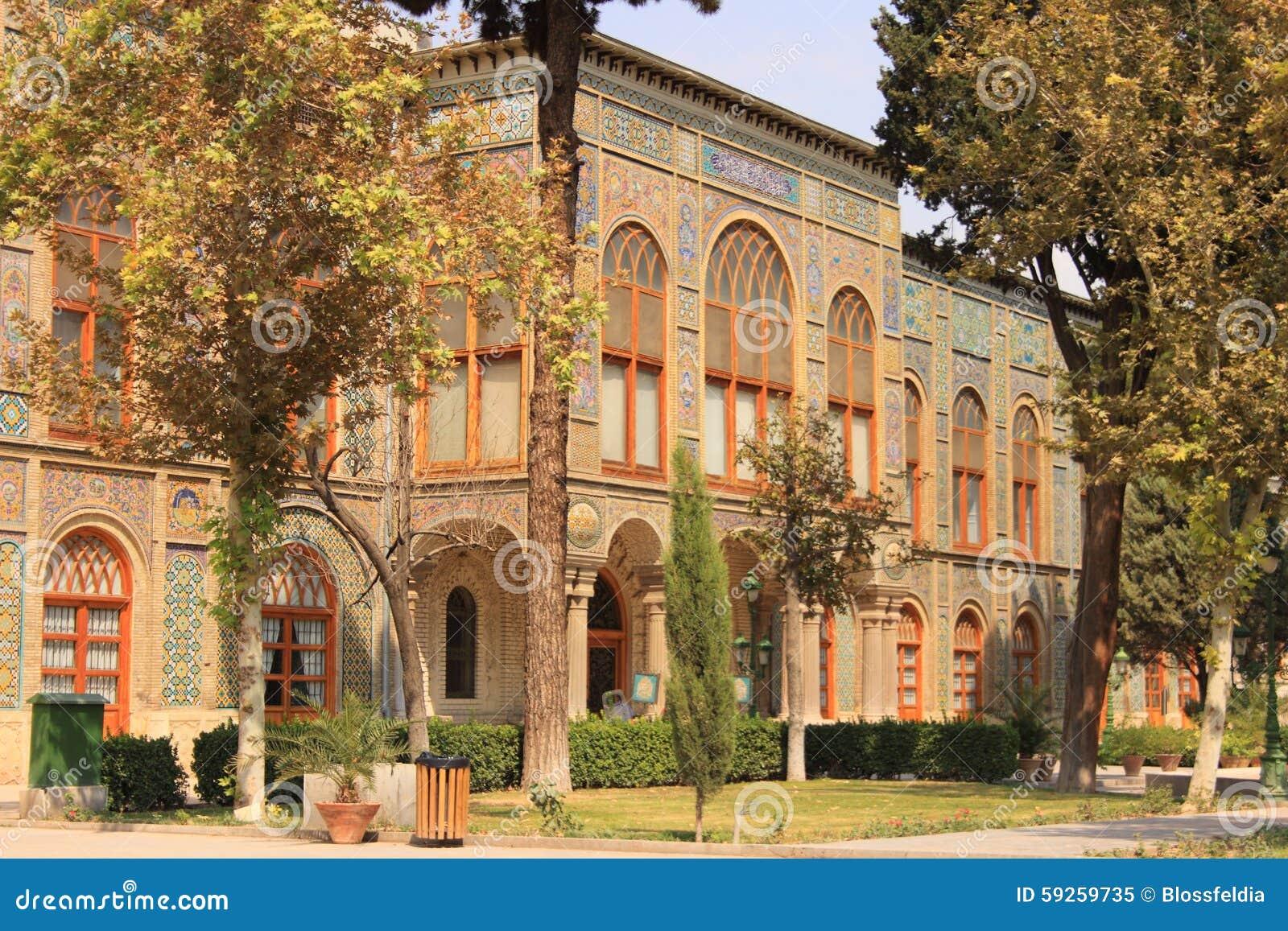 Karim Khani Nook El palacio de Golestan, Irán