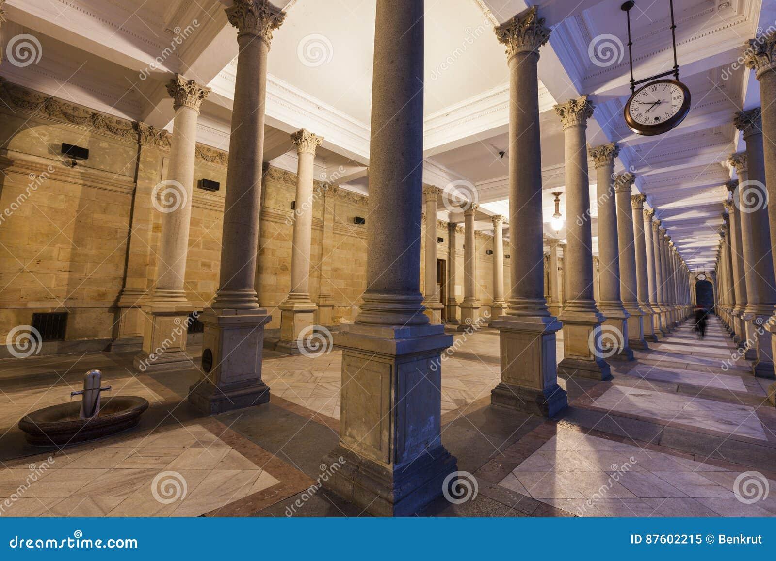 Karlovy kolumnada młyn zmienia