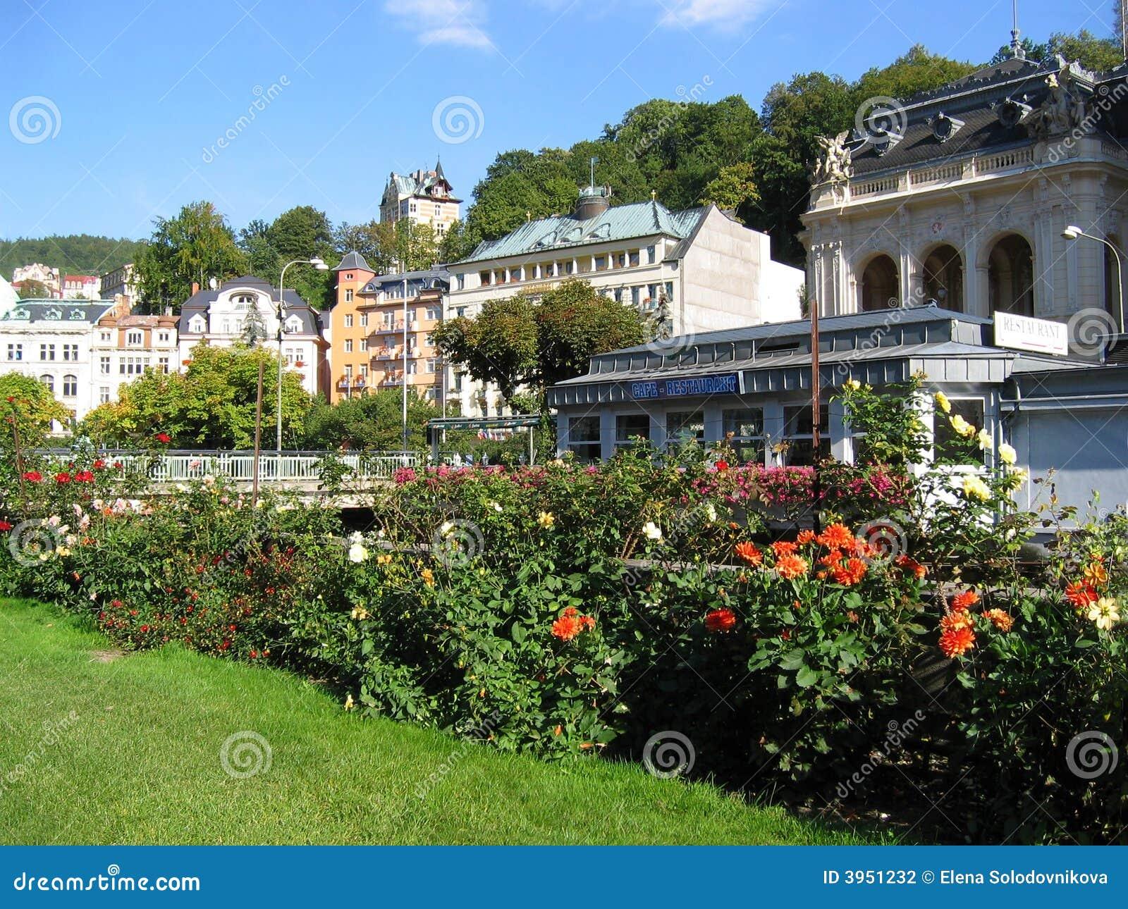 Karlovy unterschieden sich Ansicht, Czechia