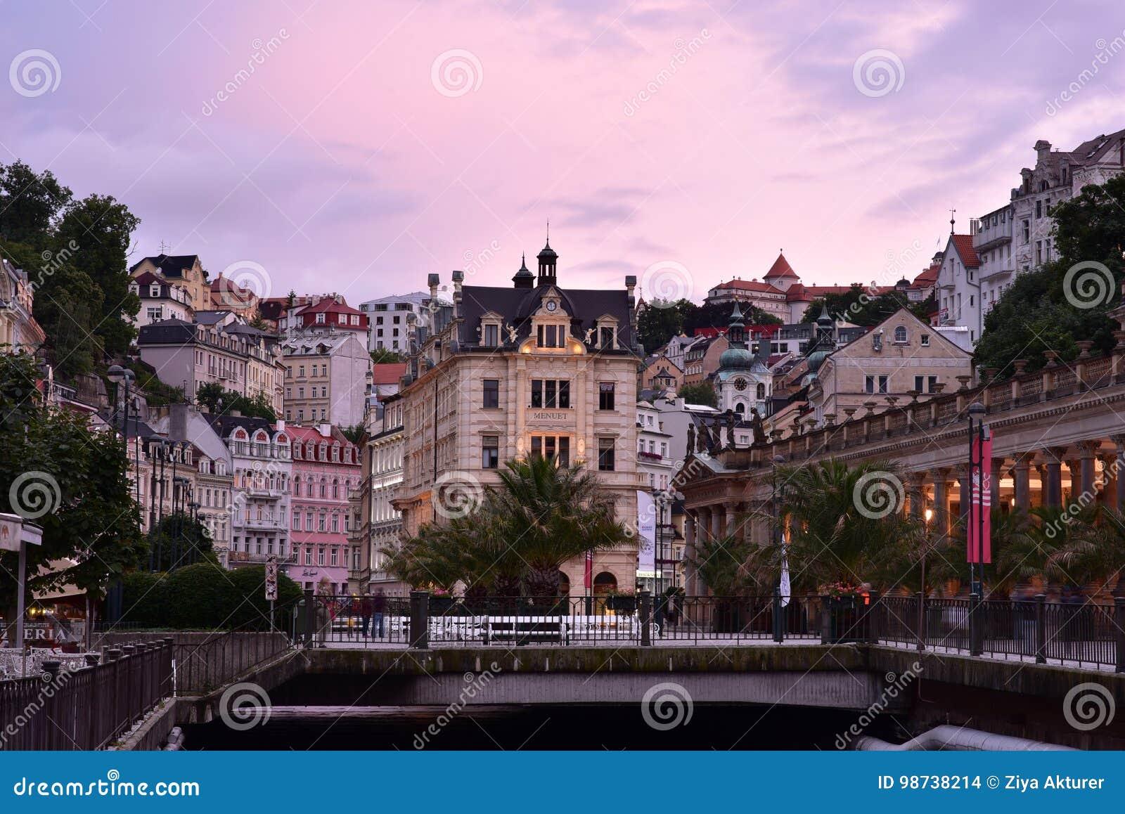 Karlovy Vary, West-Böhmen
