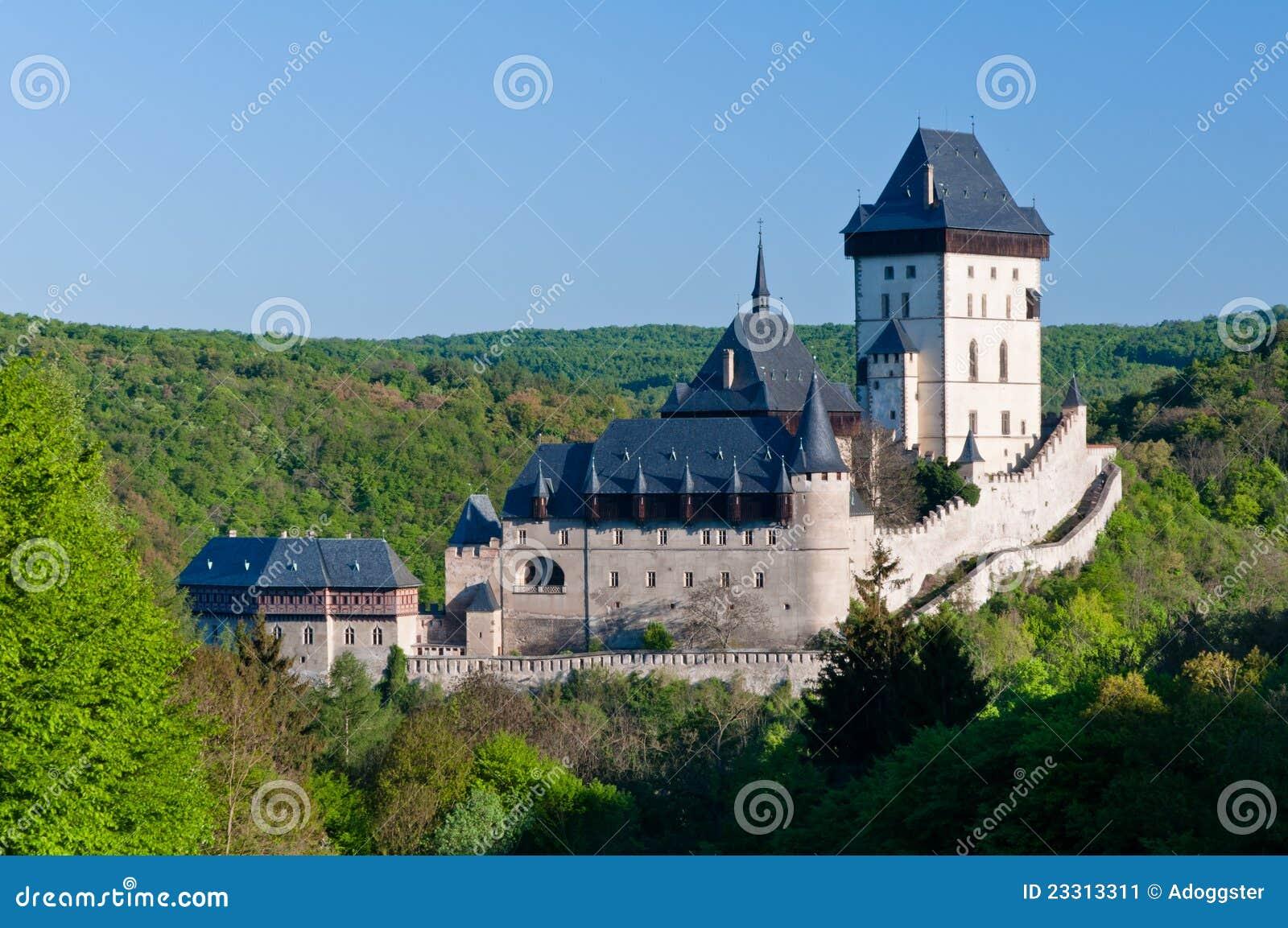 Karlstejn замока