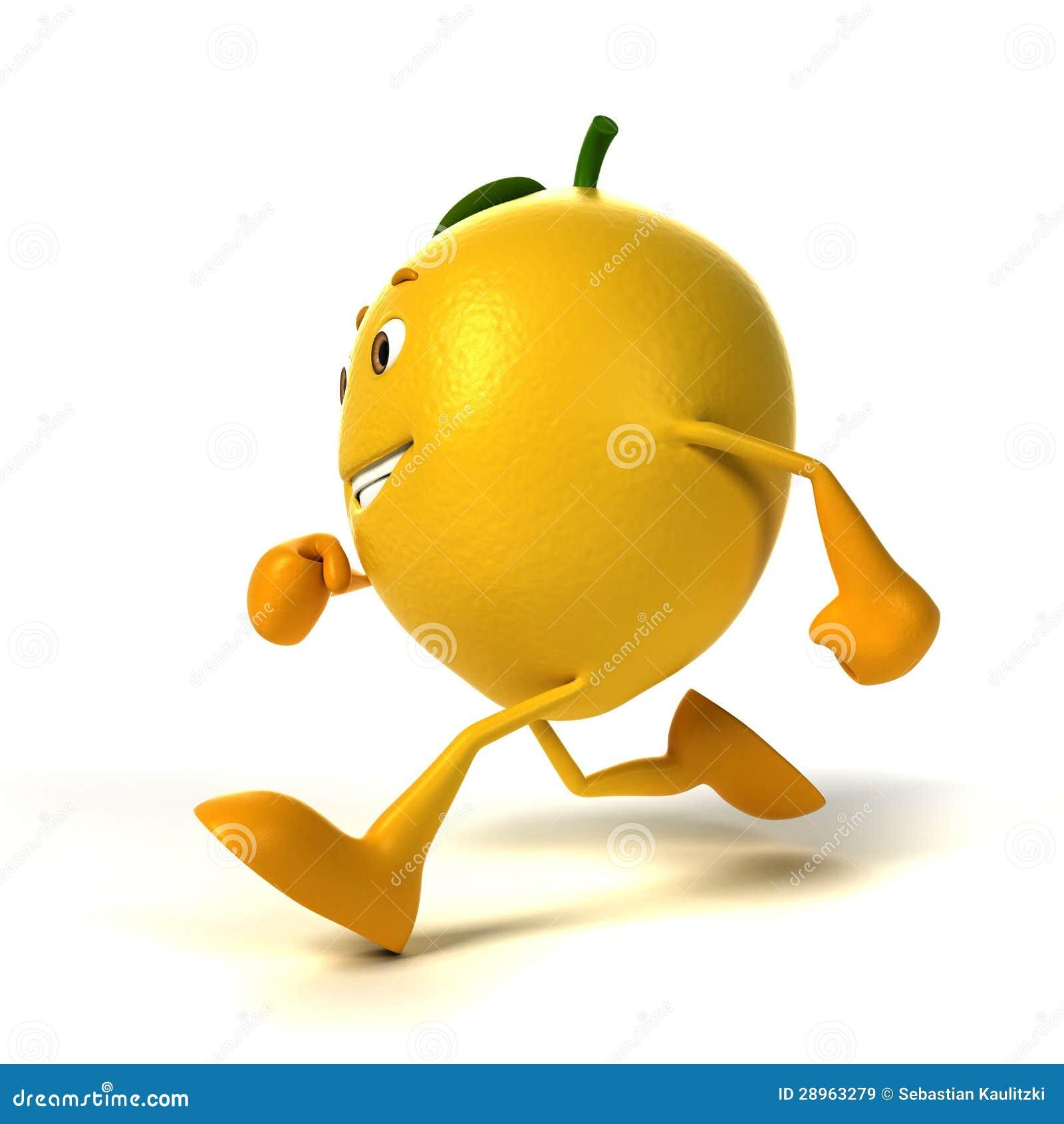 Karmowy charakter - cytryna