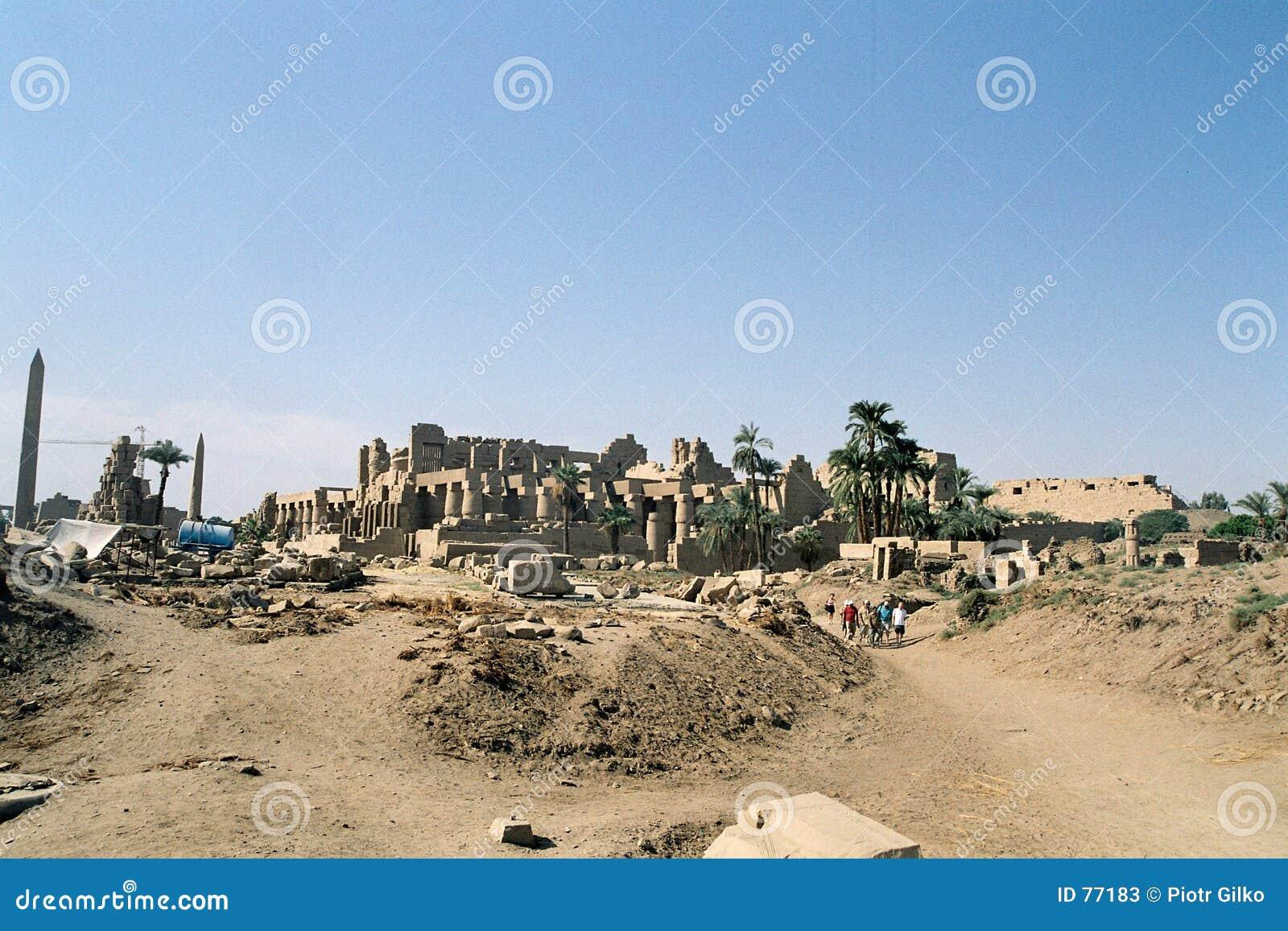 Karnak破庙
