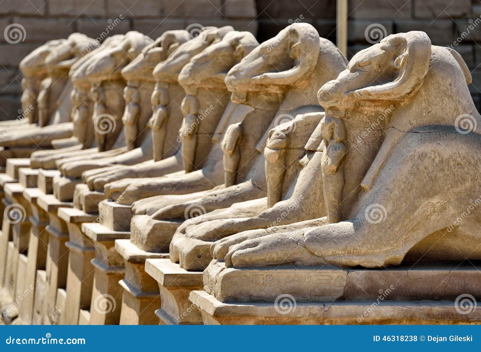 Karnak Tempel in Ägypten