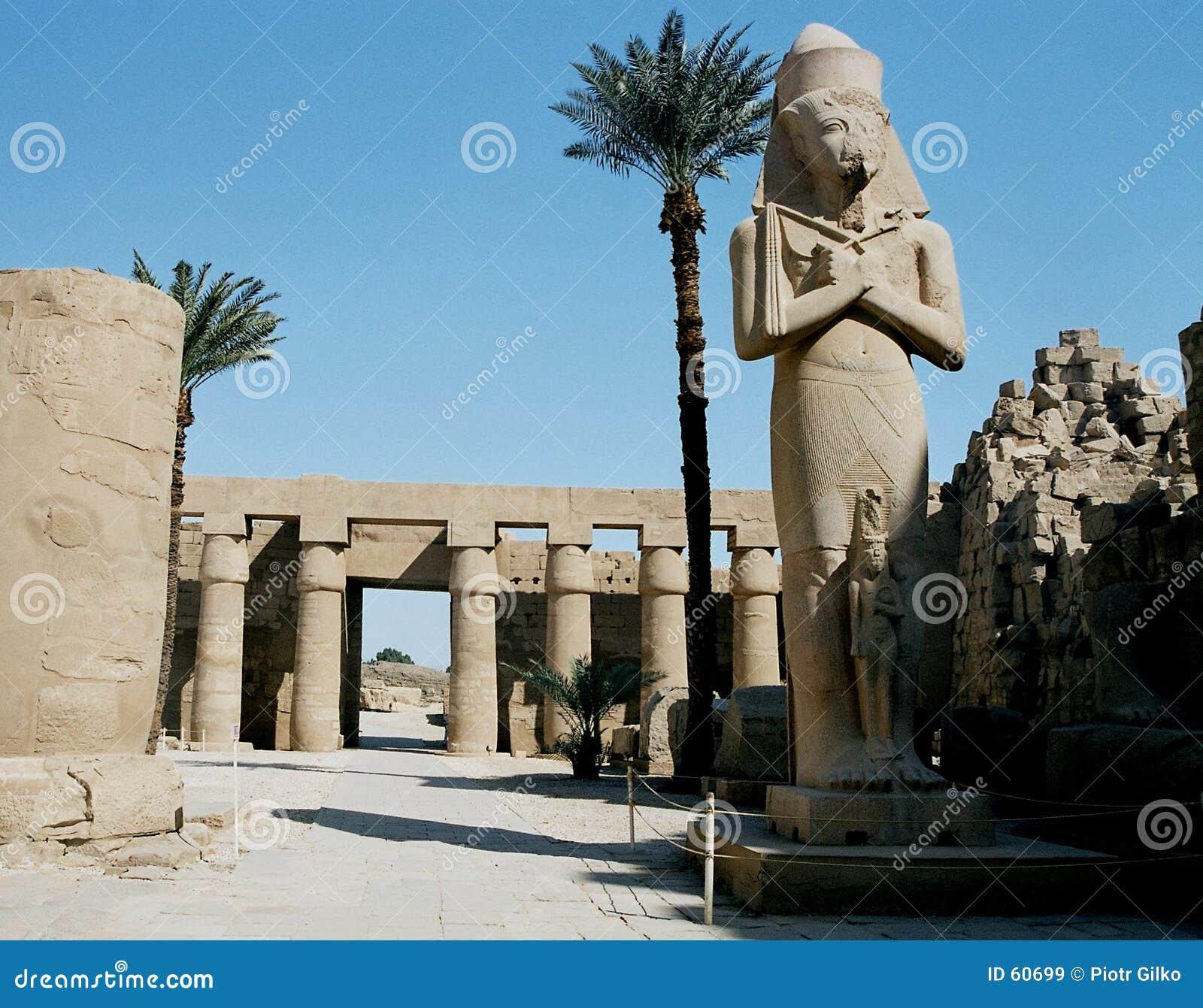 Karnak Tempel.