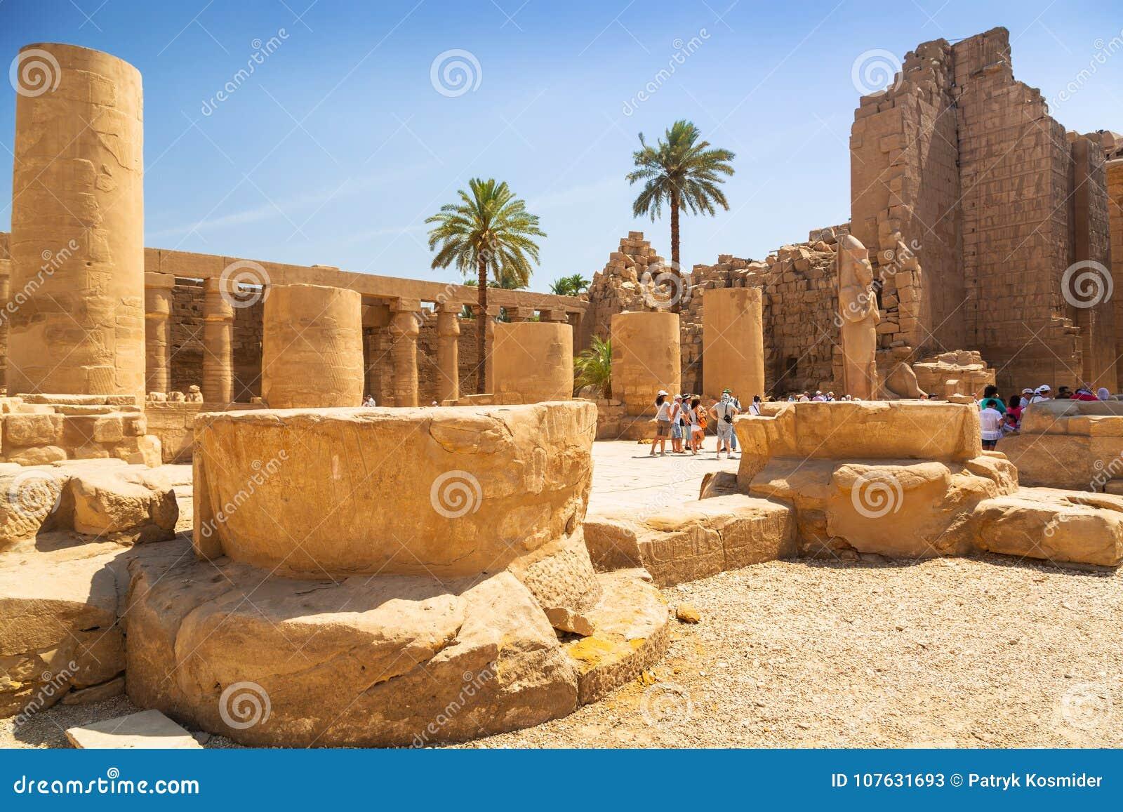 Karnak temple of Luxor, Egypt