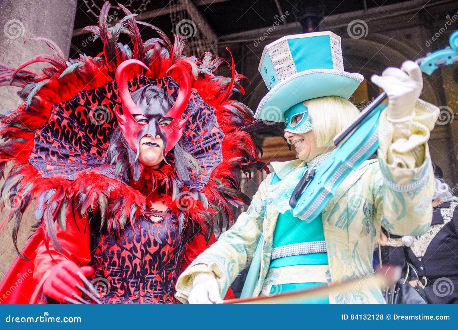 290dd96bb9dae0 Karnawał Wenecja! Weneckie Maski! Zdjęcie Stock Editorial - Obraz ...