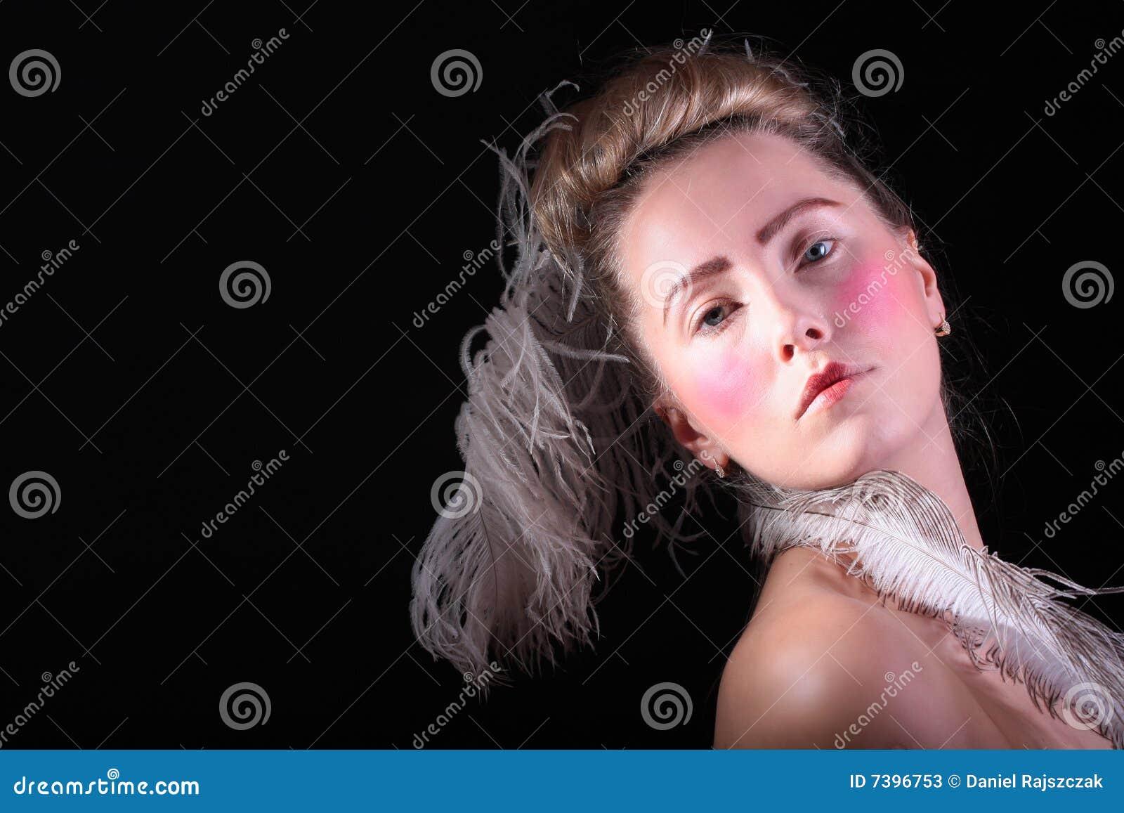 Karnawałowa przebranie dziewczyna