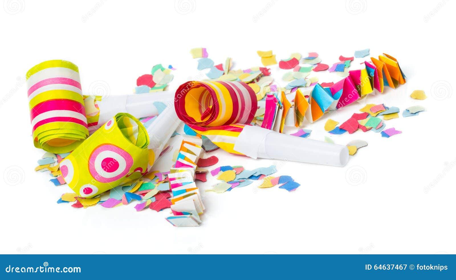 Karneval Konfetti Partei Hintergrund Archivbilder Abgabe Des