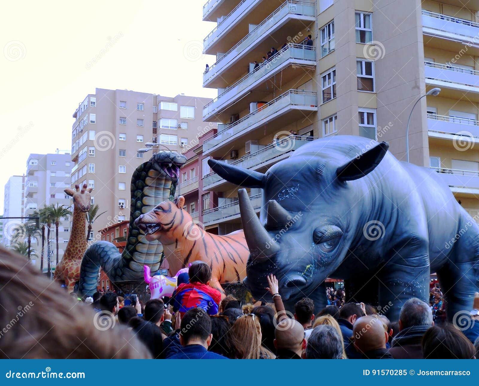 Karneval von Cadiz 2017 andalusia spanien