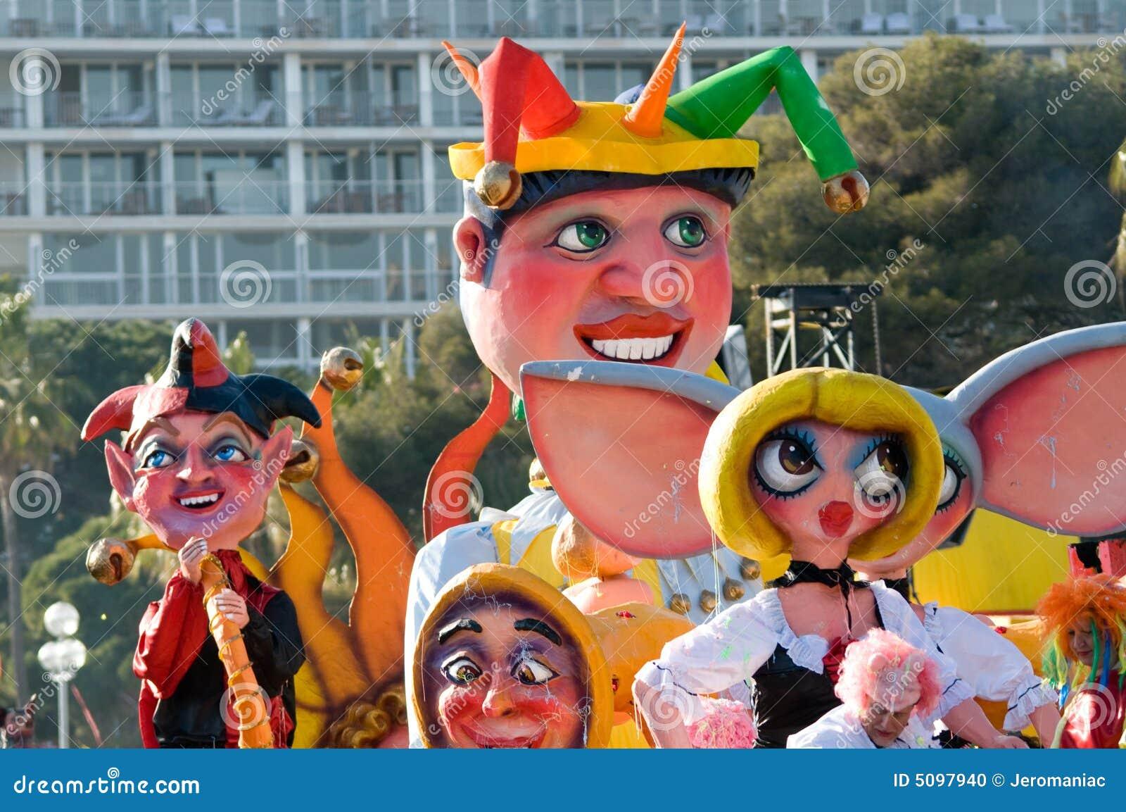 Karneval von Nizza, Frankreich.