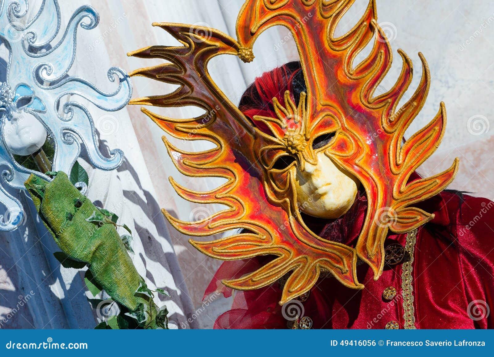 Download Karneval Von Venedig-Masken Redaktionelles Foto - Bild von illusion, paare: 49416056