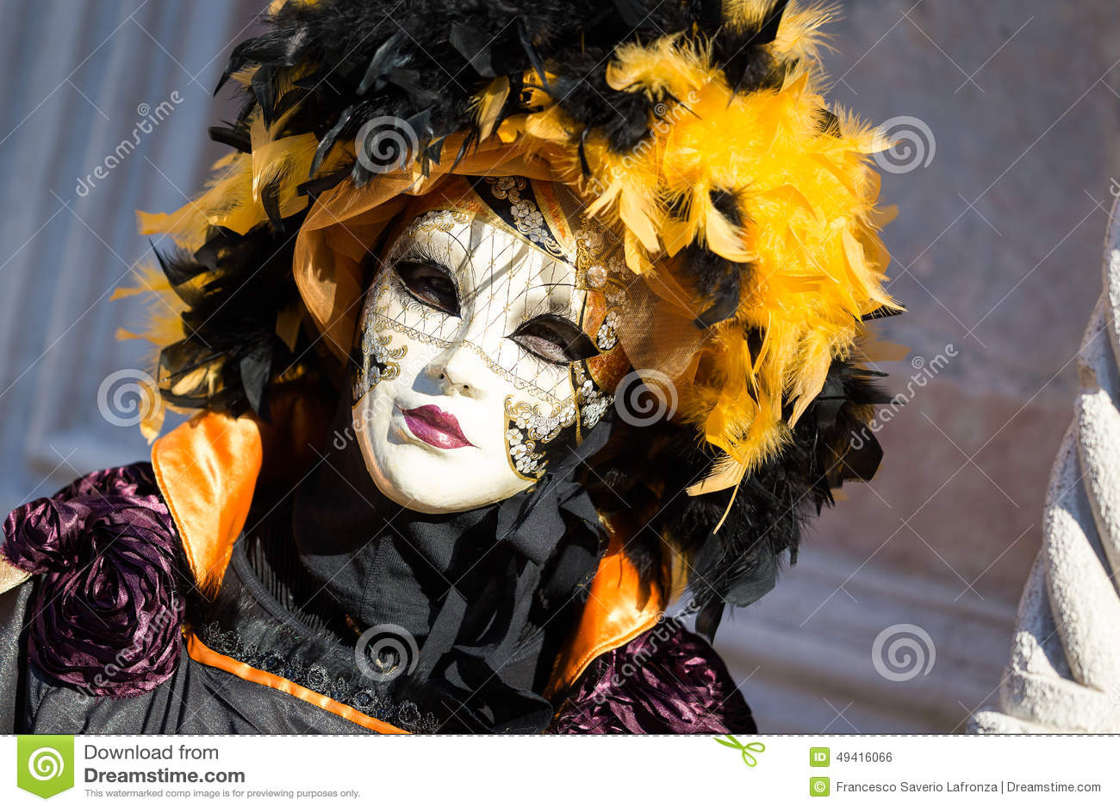 Download Karneval Von Venedig-Masken Redaktionelles Foto - Bild von illusion, lagune: 49416066