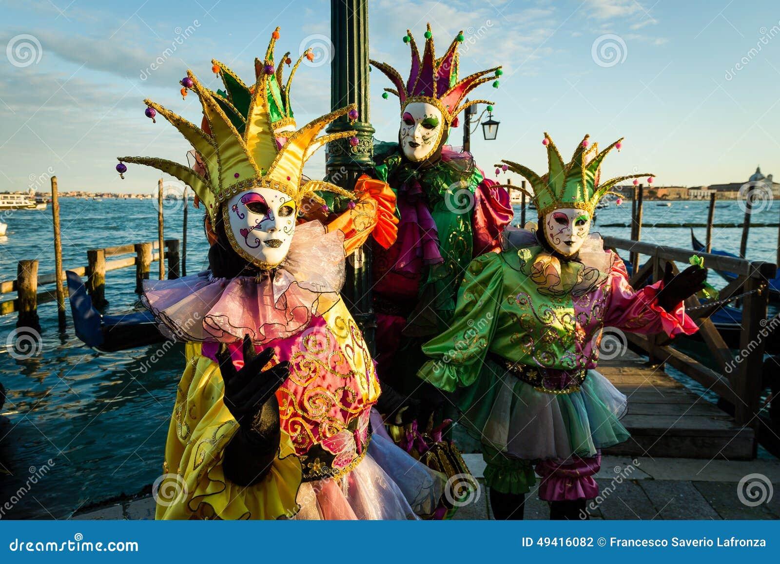 Download Karneval Von Venedig-Masken Redaktionelles Stockfotografie - Bild von frau, schauen: 49416082