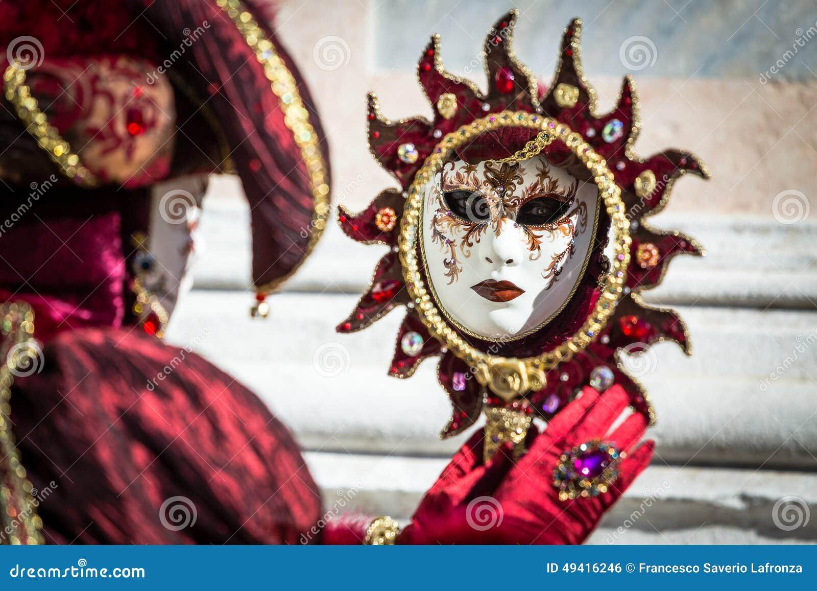 Download Karneval Von Venedig-Masken Redaktionelles Foto - Bild von lagune, versteckt: 49416246
