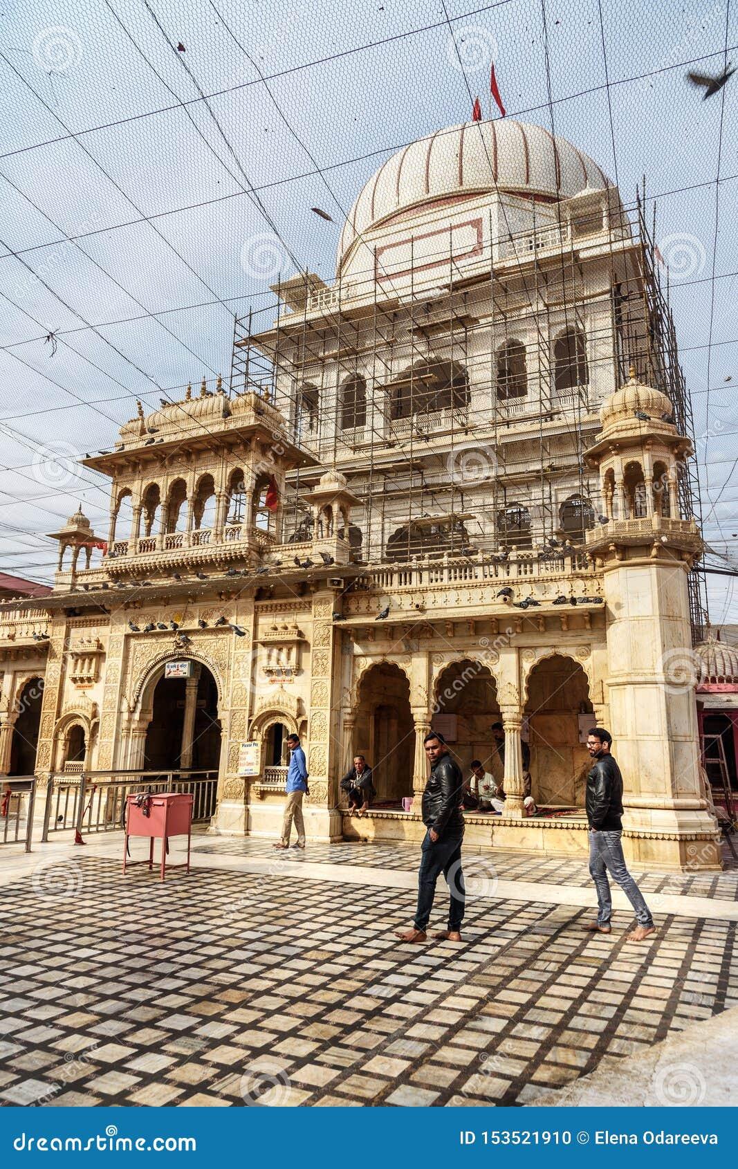 Karni Mata Temple o templo de las ratas en Deshnok Rajasth?n La India