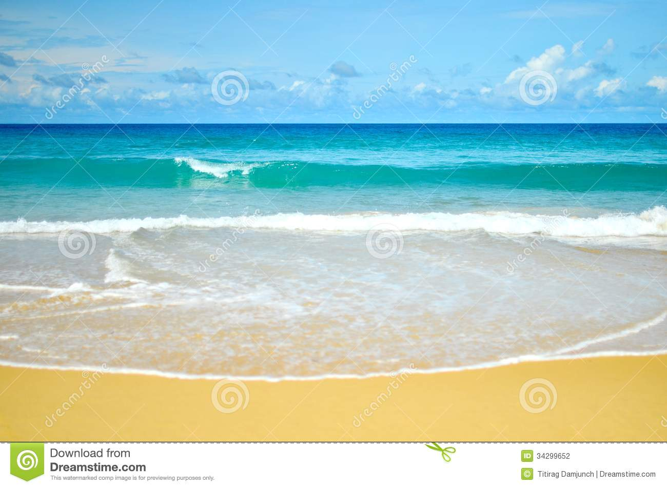 Karon Beach, Phuket ,Thailand Stock Photography - Image: 34299652