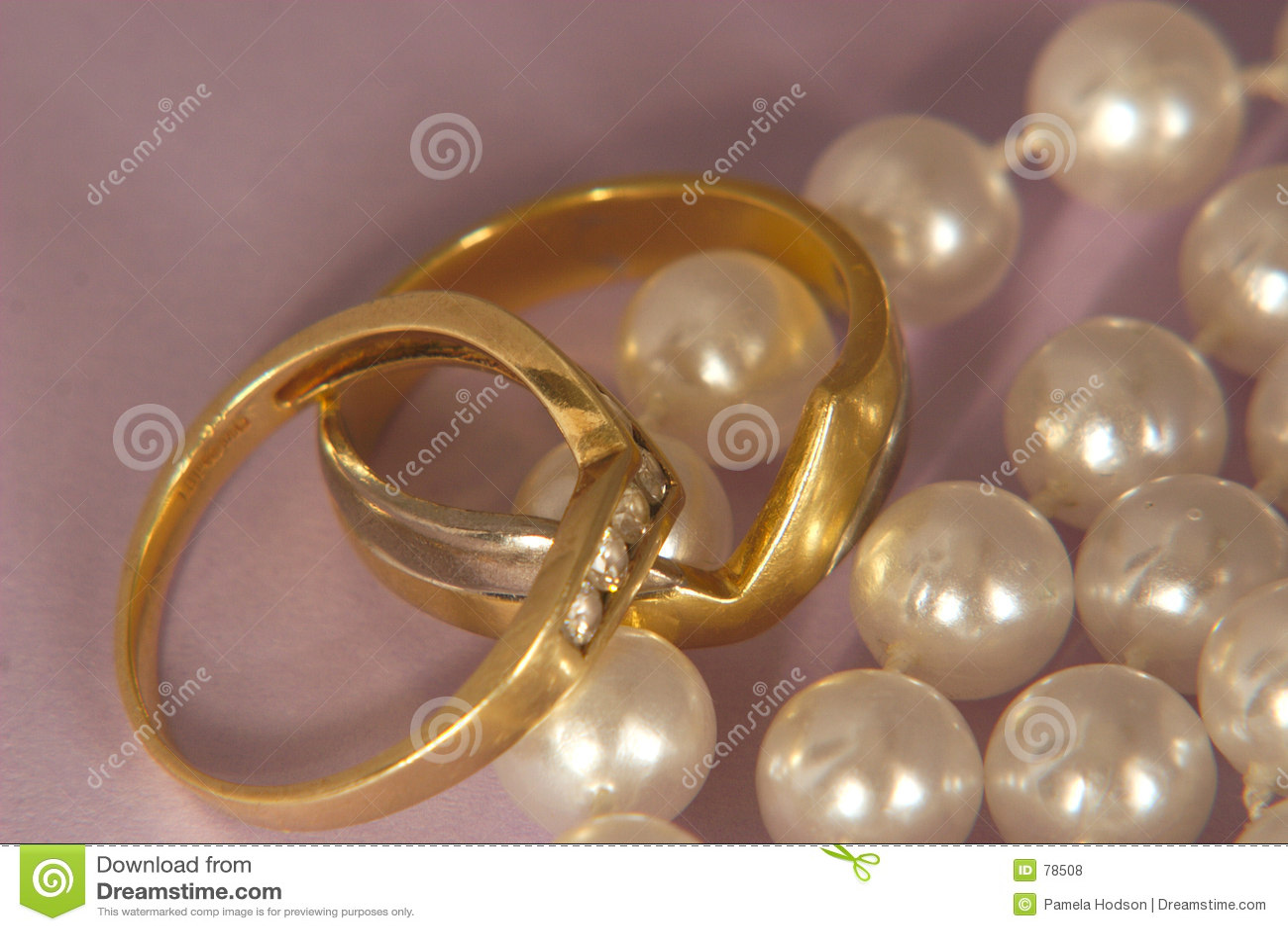 Karowa pearl złoto