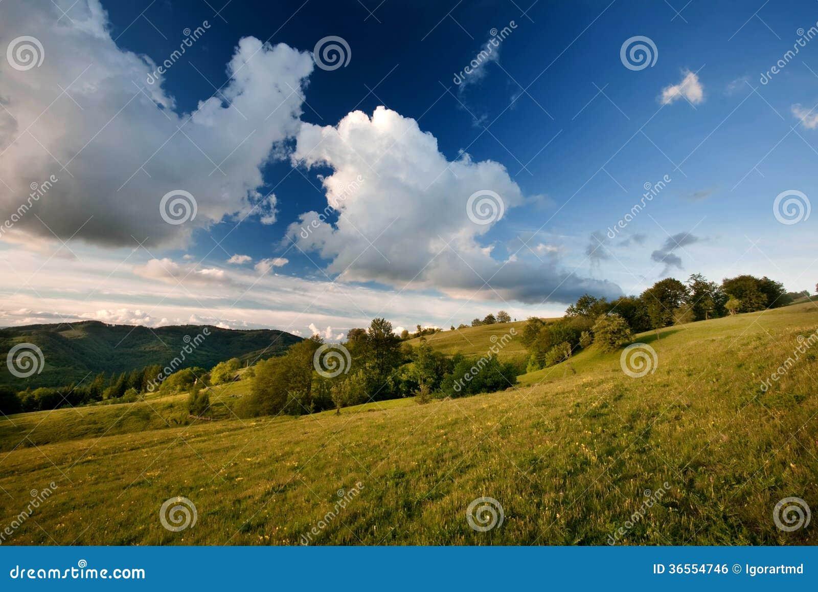 Karpatische berg