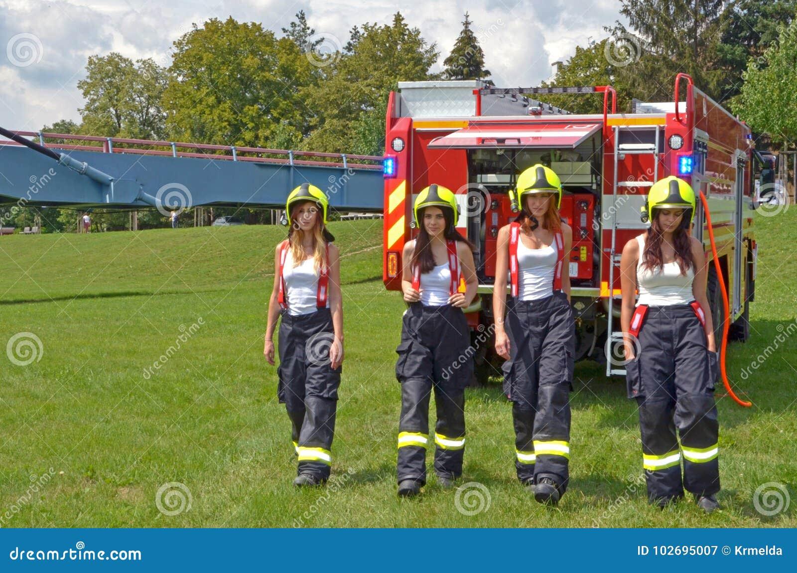 Karriär som brandkvinna