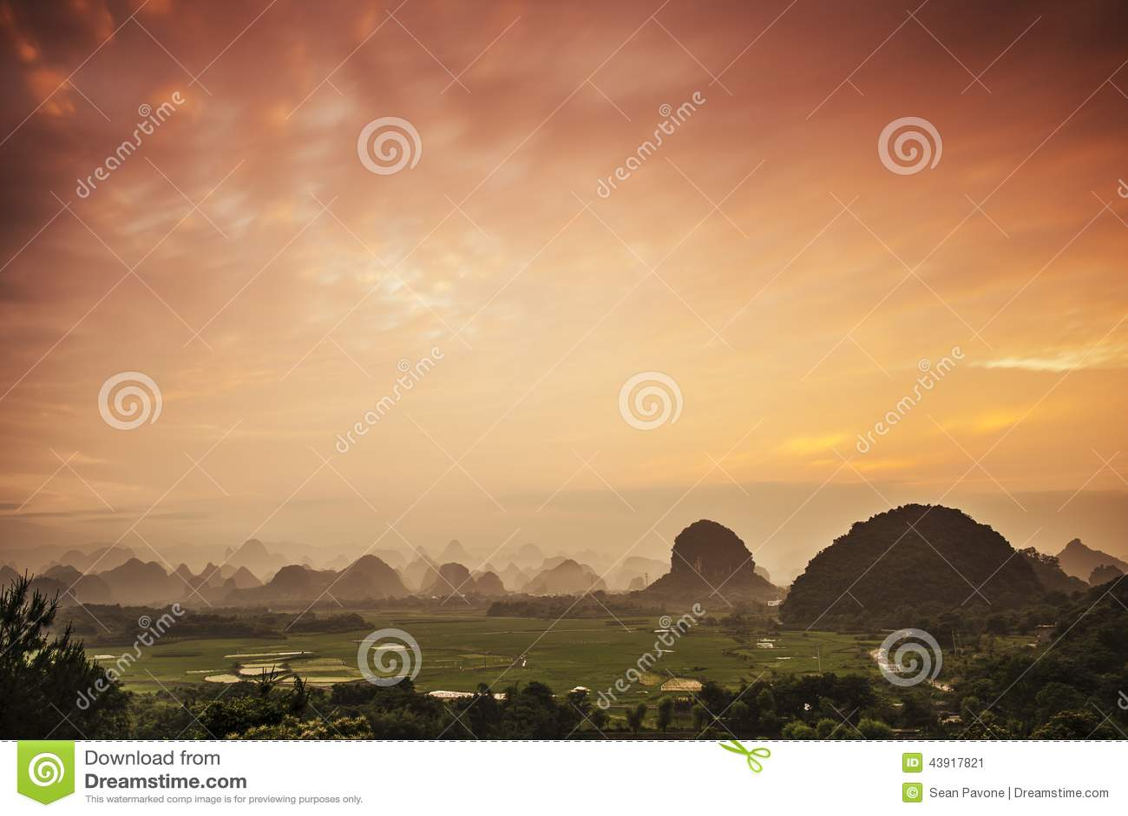 Karst-Berglandschaft