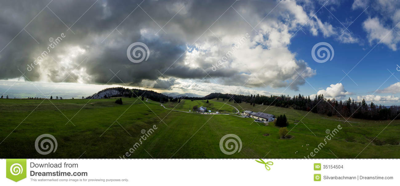 October 2013, scenery of a karst landscape in Obergrenchenberg ...