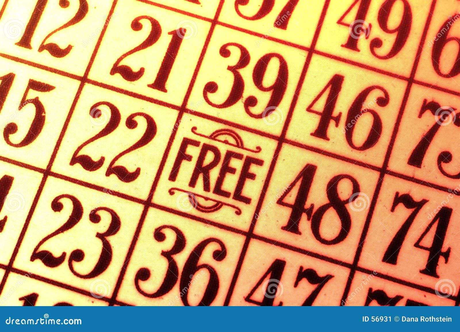 Karta bingo