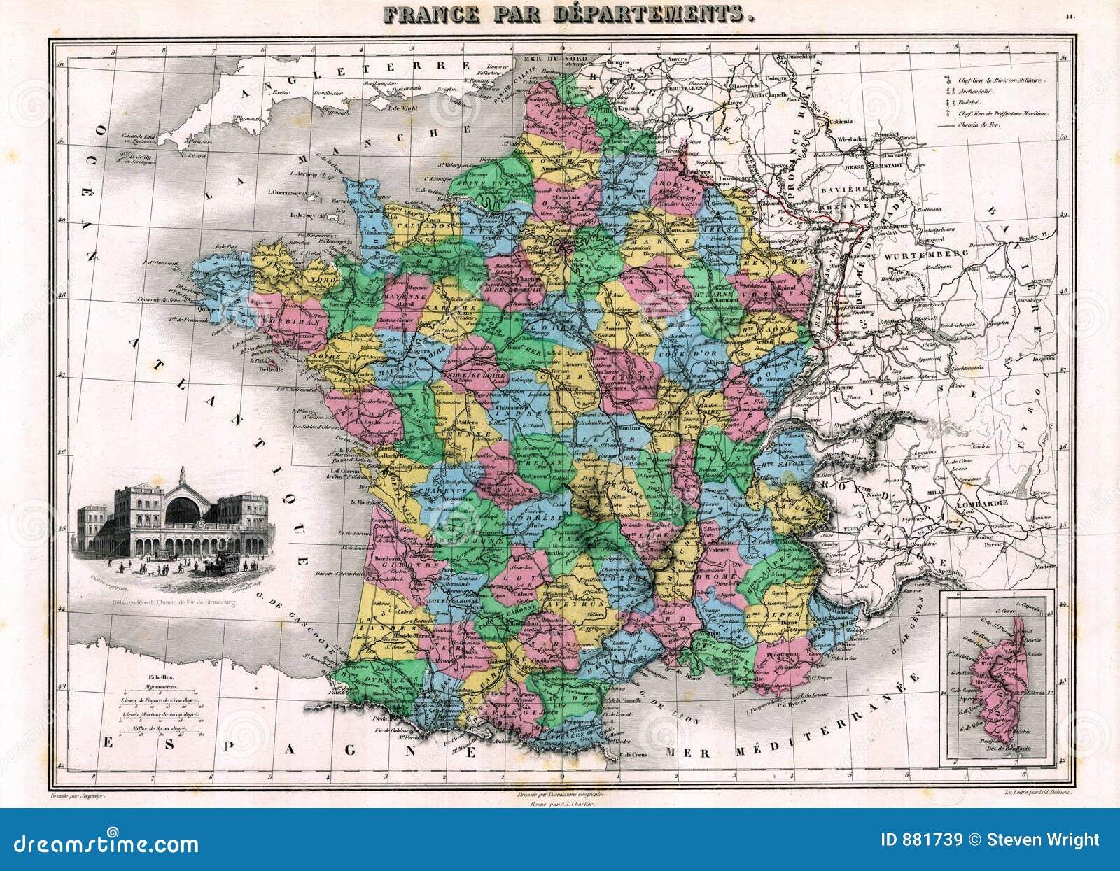 France road map frankreich karte download europakarte mit.