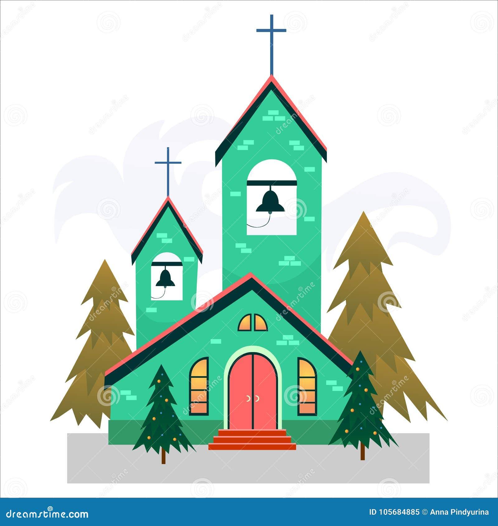 Weihnachten Im Christentum.Karte Der Frohen Weihnachten Und Des Guten Rutsch Ins Neue Jahr