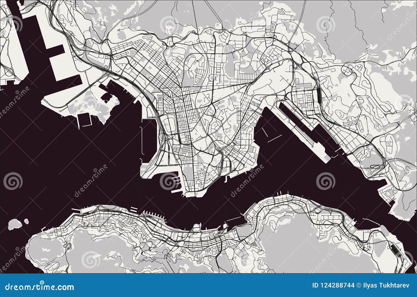 Karte China Hong Kong.Karte Der Stadt Von Hong Kong Sonderverwaltungszone Des Leute S