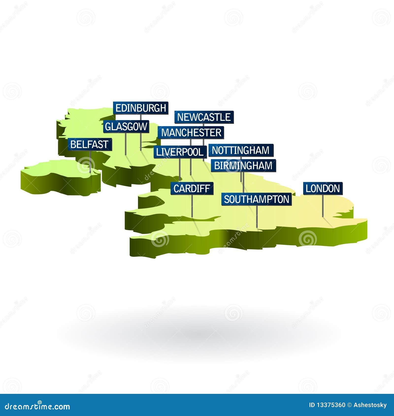 größte städte großbritannien