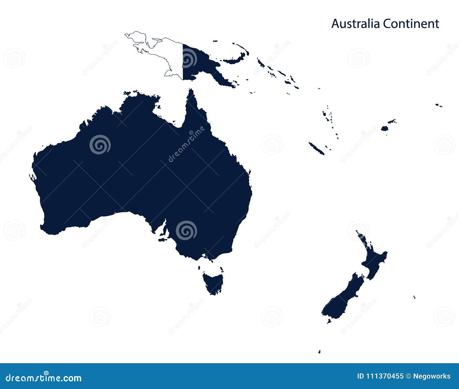 Ozeanien Kontinent