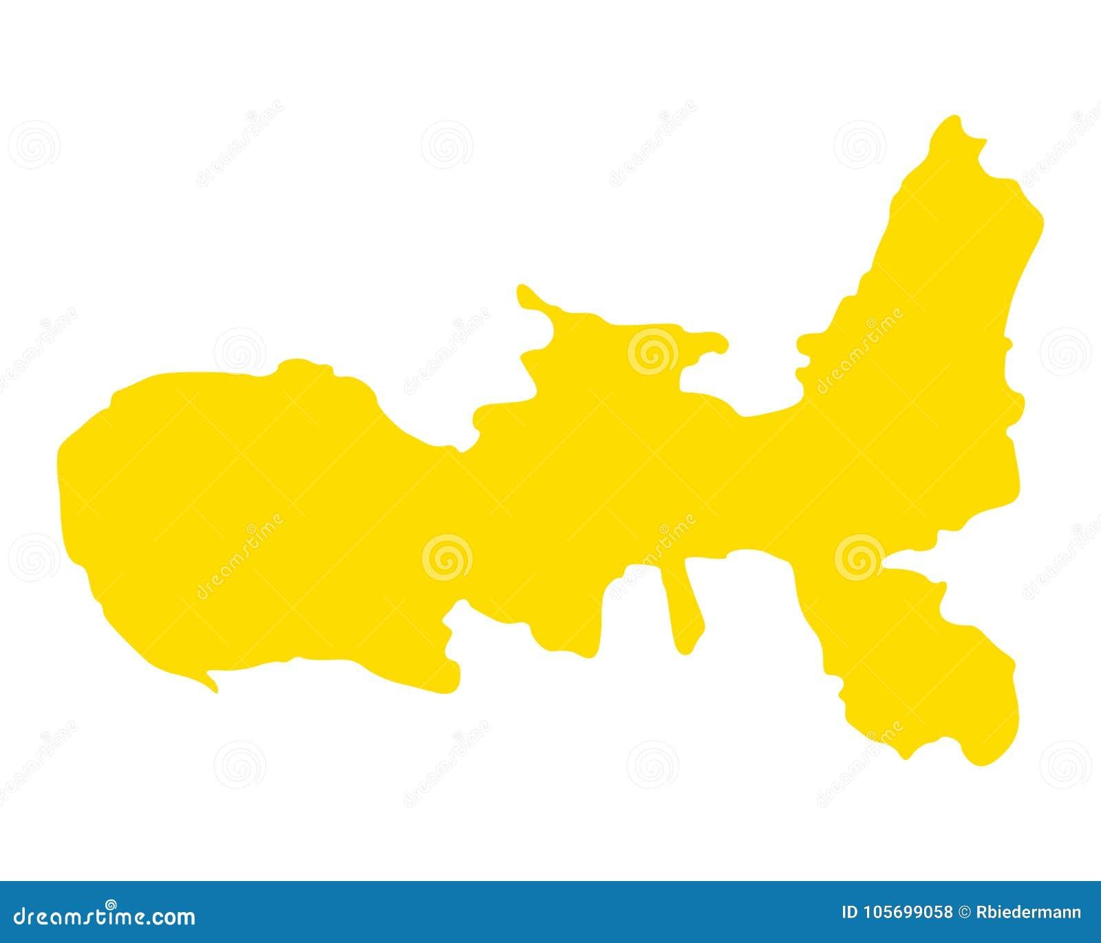 Elba Karte.Karte Von Elba Vektor Abbildung Illustration Von Karte