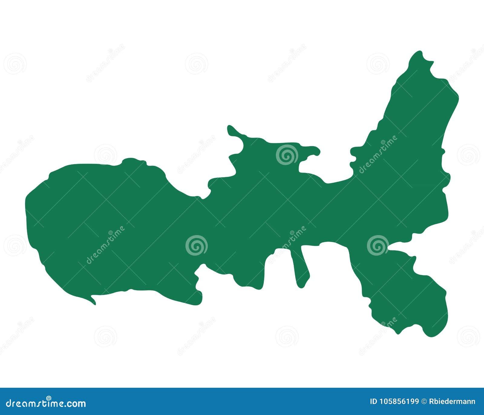 Elba Karte.Karte Von Elba Vektor Abbildung Illustration Von Geographie