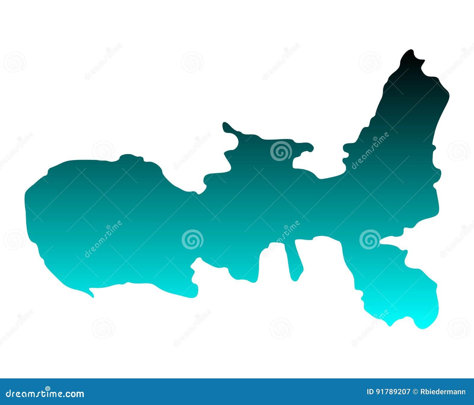 Elba Karte.Karte Von Elba Vektor Abbildung Illustration Von Vektor 91789207